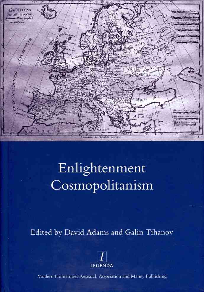 Englightenment Cosmopolitanism By Adams, David (EDT)/ Tihanov, Galin (EDT)